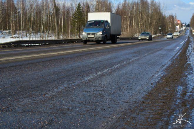Ночные бригады дорожников отремонтируют областные трассы