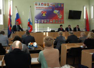 Депутаты Всеволожского района поддержали рублем строительство школ и детских садов
