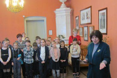 Всеволожские школьники в гостях у дедушки Крылова