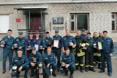 Во Всеволожском районе работает лучшее звено газодымозащитной службы Ленобласти