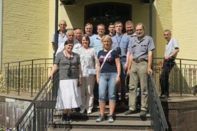 В поселке имени Морозова прошла встреча коллекционеров старинного кирпича
