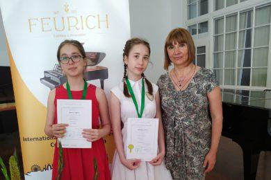 Сестры Тиджиевы из Нового Девяткино стали дипломантами конкурса в Австрии