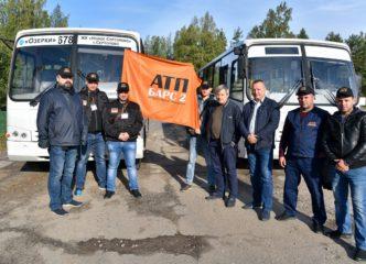 Лучших водителей автобусов Ленинградской области выбрали в Сертолово