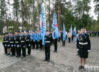 В Центре «Молодежный» открылась кадетская смена учащихся Всеволожского района