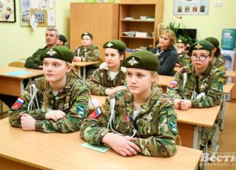 Слет кадетских классов прошел в Мурино