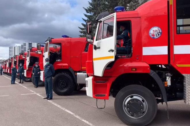 Спасатели Ленинградской области обновили технопарк