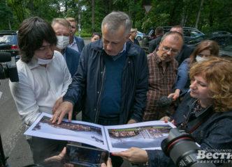 На месте полуразваленного служебного корпуса дома Всеволожских предлагают построить парк и библиотеку