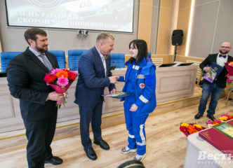Во Всеволожском районе наградили сотрудников «скорой помощи»