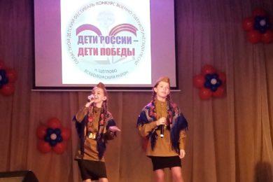 Песни о войне прозвучали в Щеглово