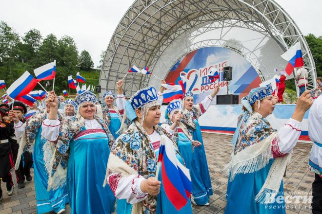 Во Всеволожске отметили День России